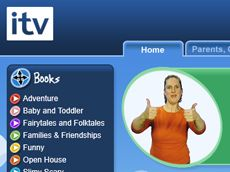 ITV Signed Stories: ITV Signed Stories is a free online library of the best modern children's books, brought to life with engaging British Sign Language translations and fun animations so all children can enjoy them.