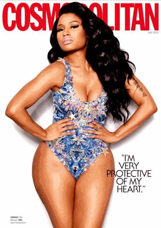 Cosmopolitan Magazine July 2015 - Nikki Minaj Cover -The Love Issue NEW & Unread