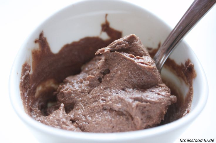 Low Carb Fitness Nutella without sugar, with almonds --- aus Kakao, Mandelmus, Quark und Xucker Light