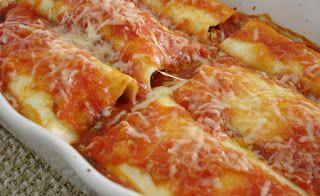 RecetasQuick: Canelones de carne y espinaca