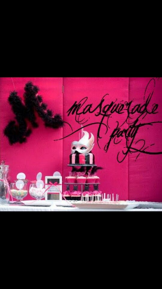 Masquerade Dinner Party Ideas Part - 30: Masquerade Dinner Party - Karau0027s Party Ideas - The Place For All Things  Party