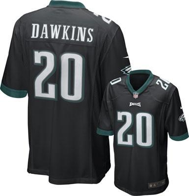 Dawkins Nike Game NFL #Eagles Jersey $99.99