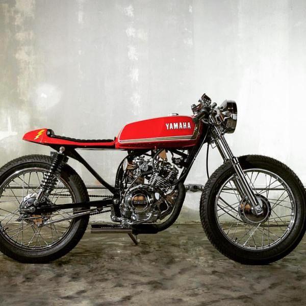102- Modification Yamaha Cafe Racer https://www.mobmasker.com/modification-yamaha-cafe-racer/