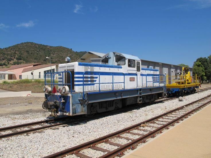 Locomotives Diesel en Corse