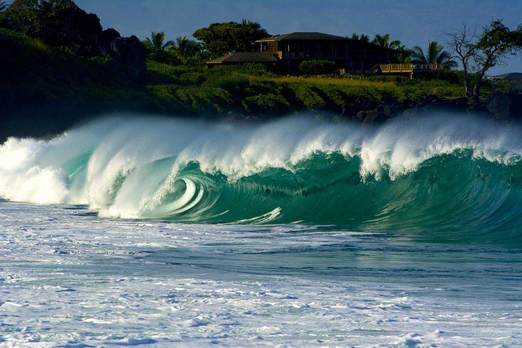 La bahía, Waimea Bay / Pinballs