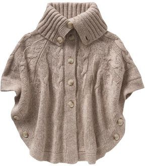 Old Navy Cable Knit Cape