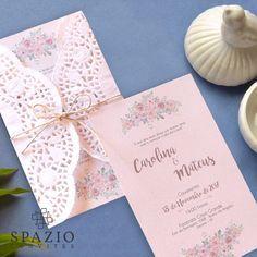 Convite de casamento barato com papel rendado doilie magoo - comprar papel para convite de casamento em são paulo e são josé dos campos sjc | jacareí Spazio