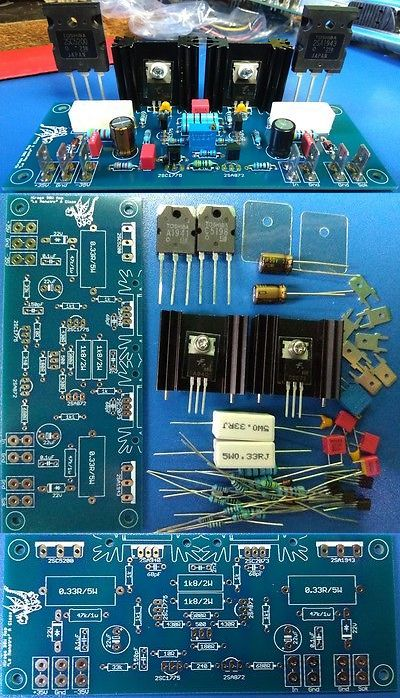 Amplifier Parts and Components: Hiraga 30W A Class Amplifier D.I.Y. -> BUY IT NOW ONLY: $30 on eBay!