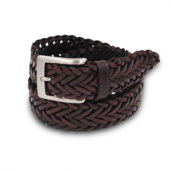 #cintura mod.Spiga in Vera Pelle intrecciata a mano disponibile sul nostro sito www.mariodoni.it in vari colori. #mariodoni #madeinitaly #belts #leathercraft #leatherbelts #handmade #braidedbelts #cinture