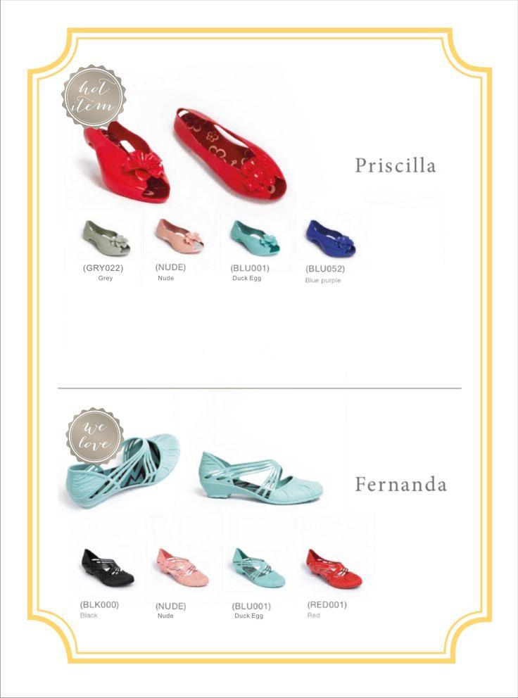 Shoe love...Priscilla Flower and Fernanda