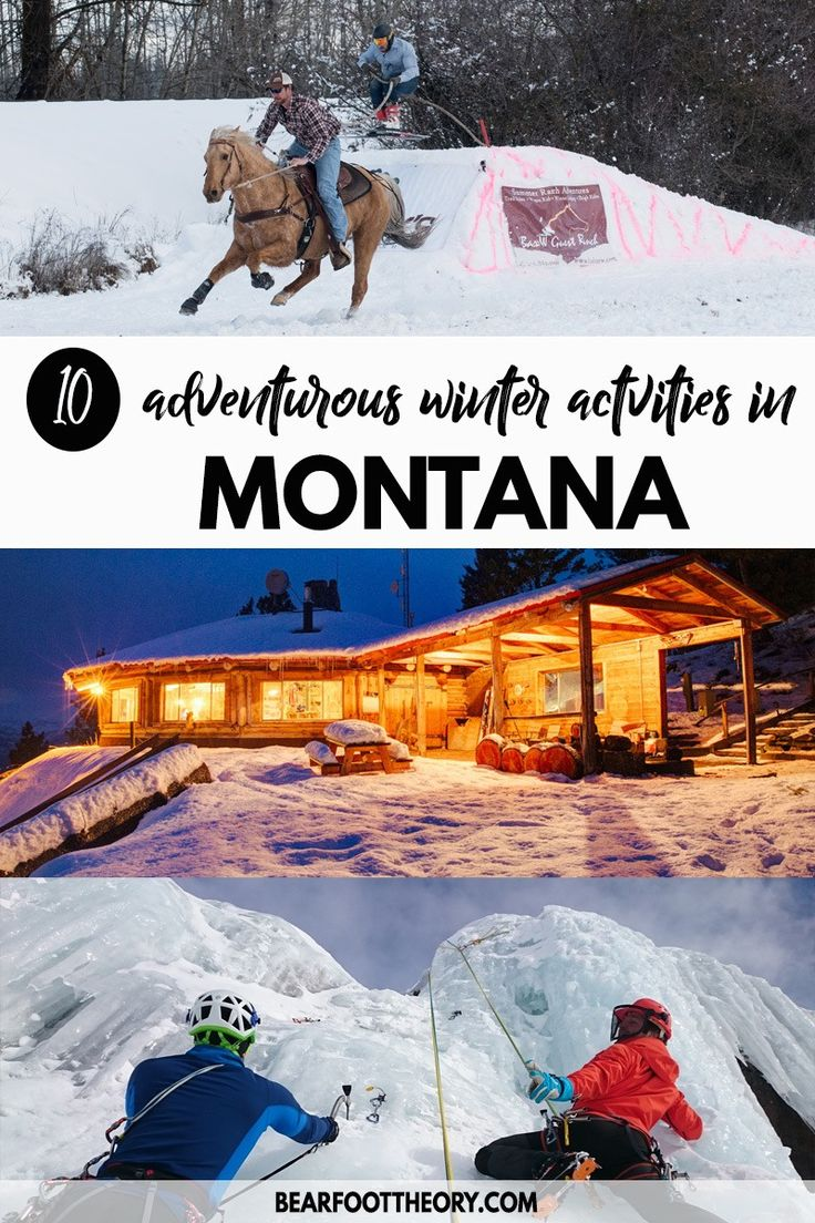 From hot springing to dog sledding to skijoring, g…Edit description