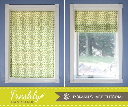 I'm pleased to have checked another item off my project list. I've gone without any type of window covering in my project room for...