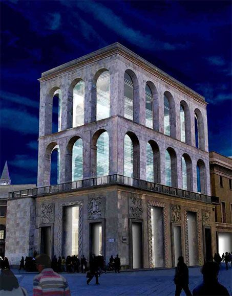 XX Century Museum, Piazza del Duomo