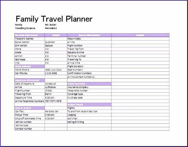 Vacation Coverage Plan Template from i.pinimg.com