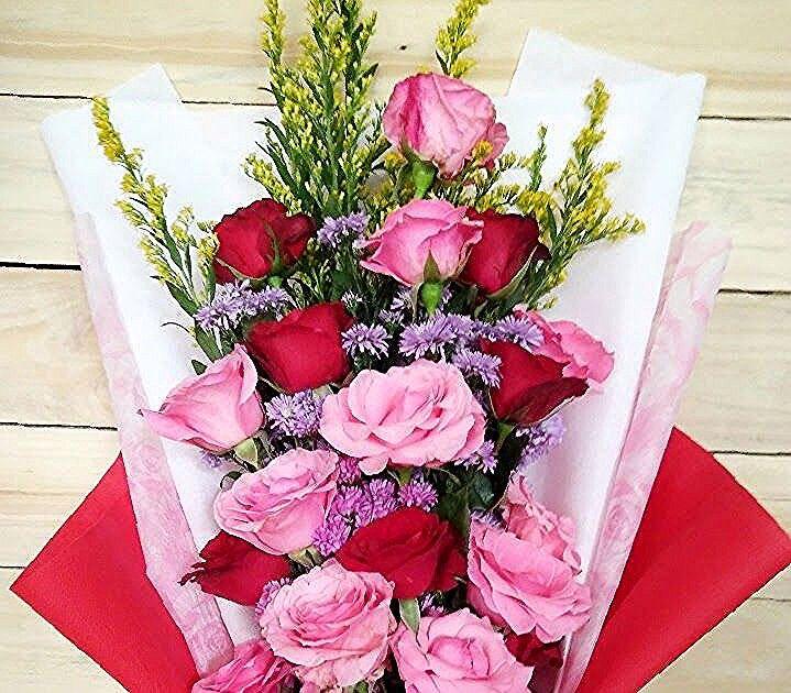 Mawar Merah 2020 Floral Wreath Flowers Floral