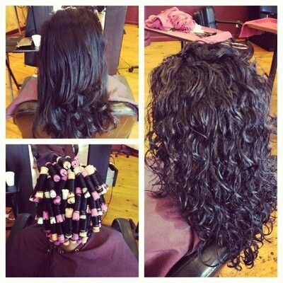 Spiral perm for when my hair gets long :)