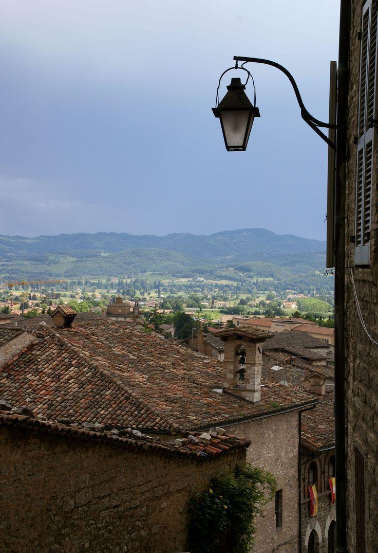 Gubbio, Umbria_ Italy
