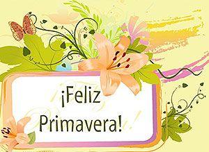 Tarjetas gratis de Feliz Primavera | Correomagico | Mágicas postales animadas gratis