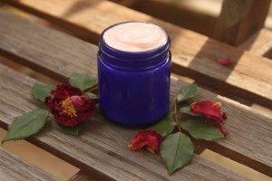 Rose Face & Body Cream Recipe - The Nerdy Farm Wife