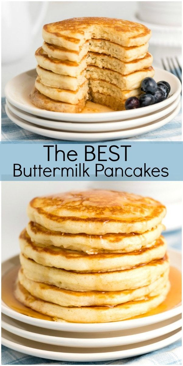 Buttermilk Pancakes Recipe Buttermilk Pancakes Perfect Pancake Recipe Pancake Recipe Buttermilk