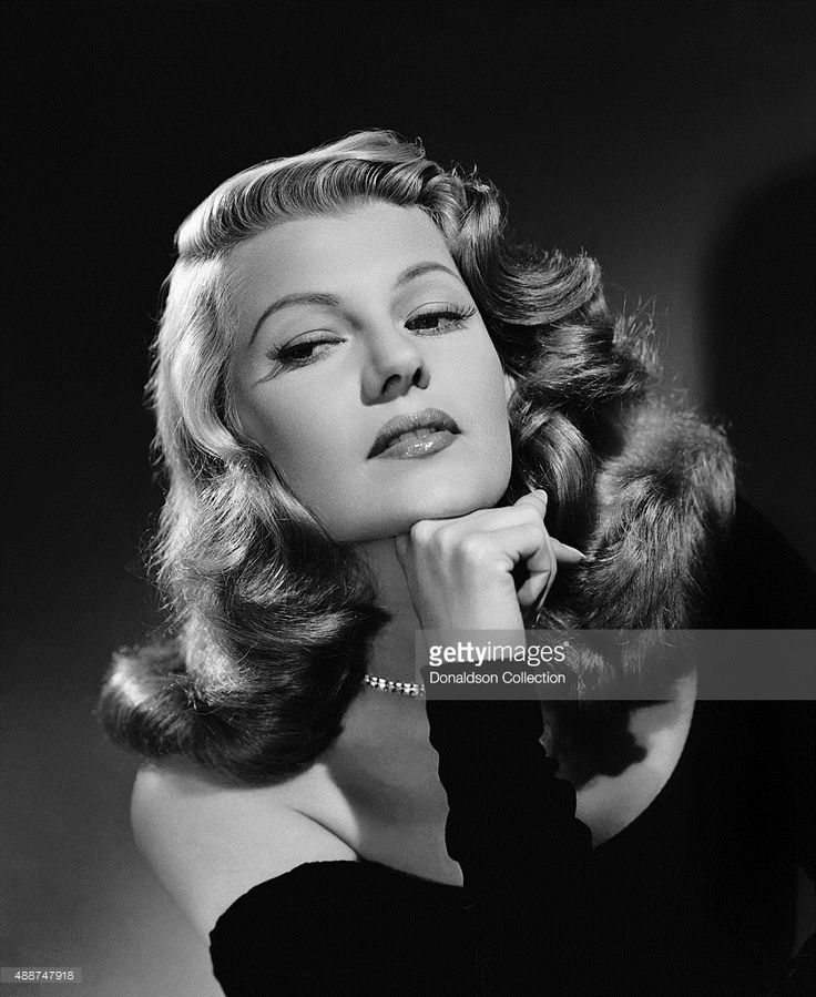 Actress Rita Hayworth poses for a publicity still for the Columbia Pictures movie 'Gilda' in 1946.