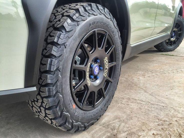 All terrain tires? How about BFG KO2's for your Crosstrek? : XVcrosstrek