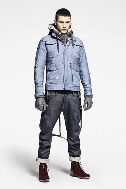 G-Star RAW Mens: 2011-2012 Fall Winter Collection: Designer Denim Jeans Fashion: Season Lookbooks, Ad Campaigns and Linesheets