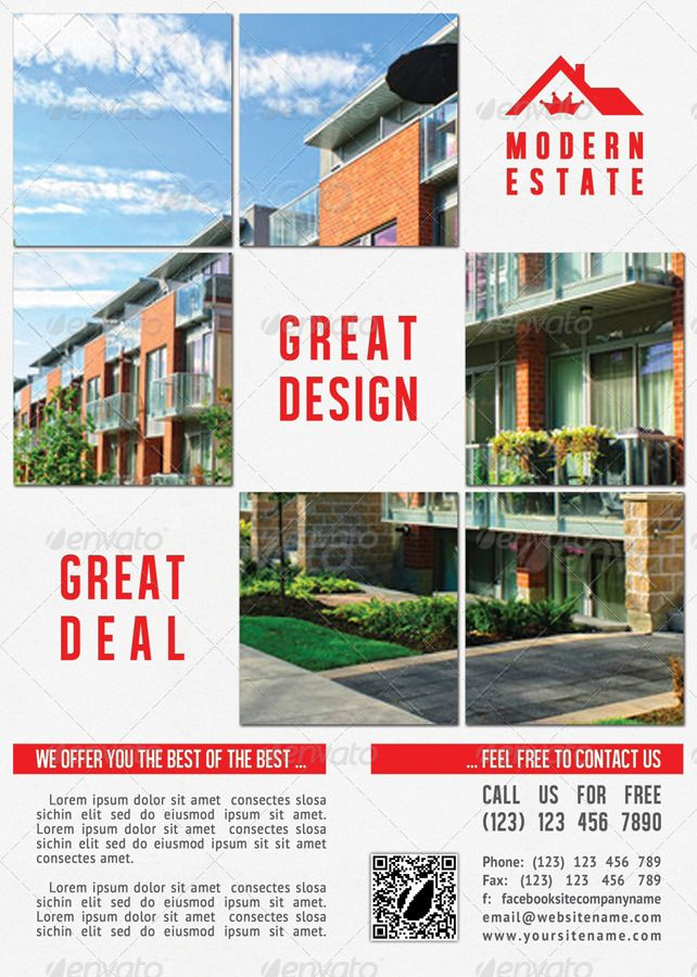 Best Flyer Images On   Real Estate Flyers Business