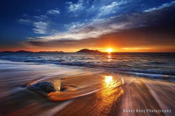 Blue gold moment - Landscape Photography by Bobby Bong  <3 <3