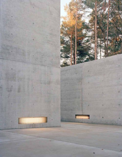 Exposed Concrete Walls Ideas Inspiration: Documentation Center For The