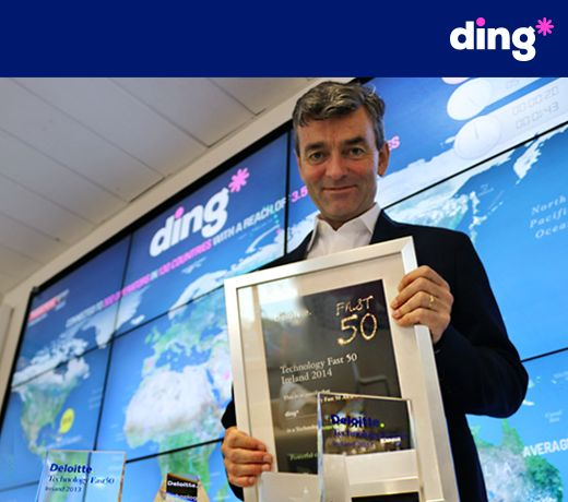 Its been another great week at ding*. We recently received second place in the Deloitte Fast 50 Awards (three years in a row being a finalist). We are delighted for the recognition, this is a real team effort and one that will be enjoyed by all. #dingnews