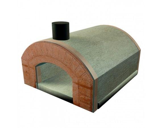 φούρνος κατασκευασμένος  εξ ολοκλήρου από πυρίμαχο τσιμέντο  υψηλό σε  περιεκτικότητα  αλουμίνια.