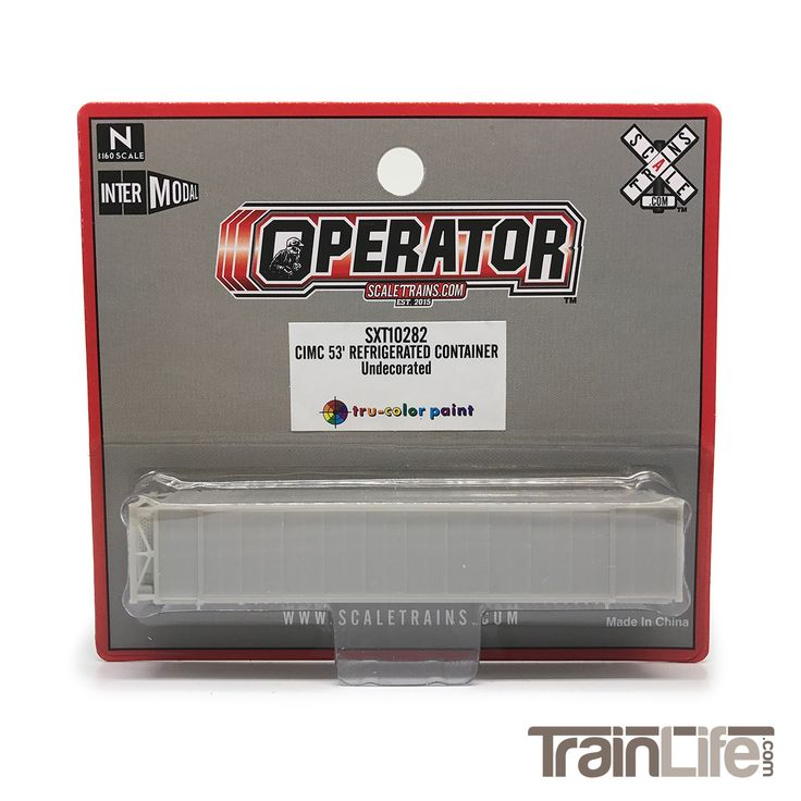 N Scale: CIMC 53' Reefer Container - Undecorated Kit