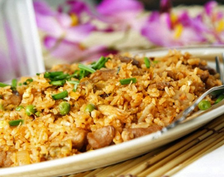 This Classic Thai Chicken Fried Rice is Simple Yet Tasty