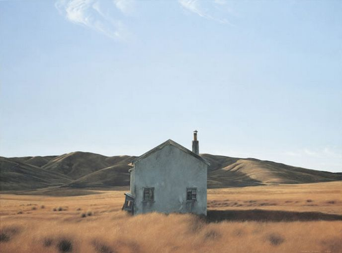 Cookhouse by Grahame Sydney. Art-prints available from imagevault.co.nz