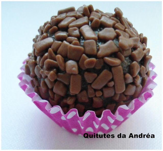 QUITUTES DA ANDRÉA: Docinhos de nutella: De Nutella, Of Sweets, Brazilian Recipes