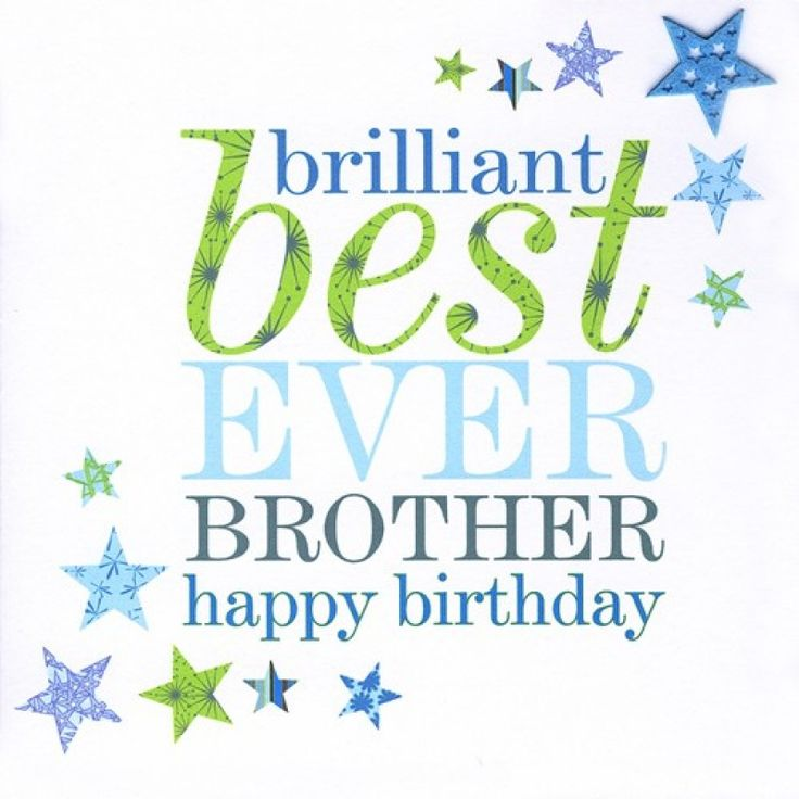 Happy Birthday Message For Brother ~ Happy birthday cards for brother bday card pinterest