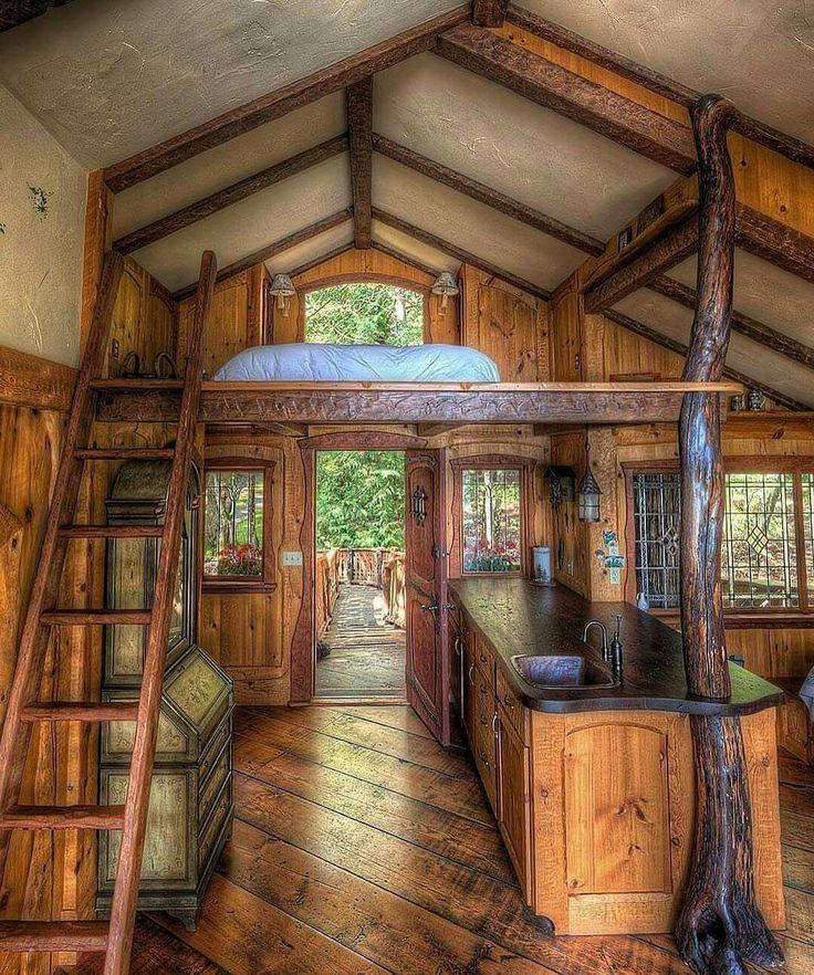 Best 25+ Small cabin interiors ideas on Pinterest   Tiny ...