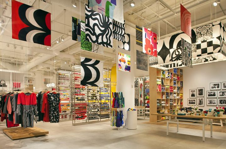 #Marimekko flagship store by Studios #Architecture #NewYork #print #pattern #retail #interiors