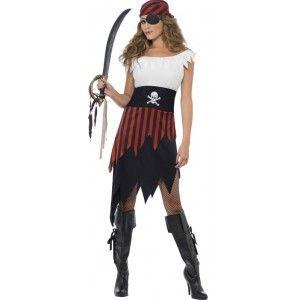 Bonny Piratin Kostüm 1
