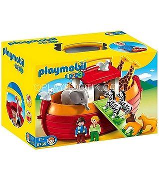 playmobil 6765-ARCHE DE NOE . http://www.playboutik.com/achat-arche-de-noe-playmobil--394369.html