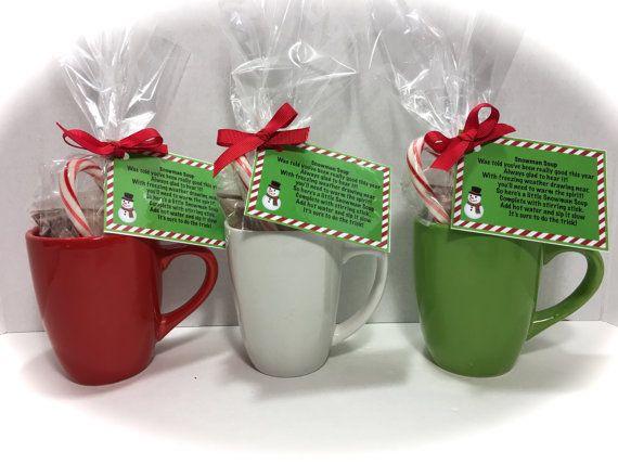 Snowman Soup Gift Set Snowman Soup Mug by MonisMasonCreations