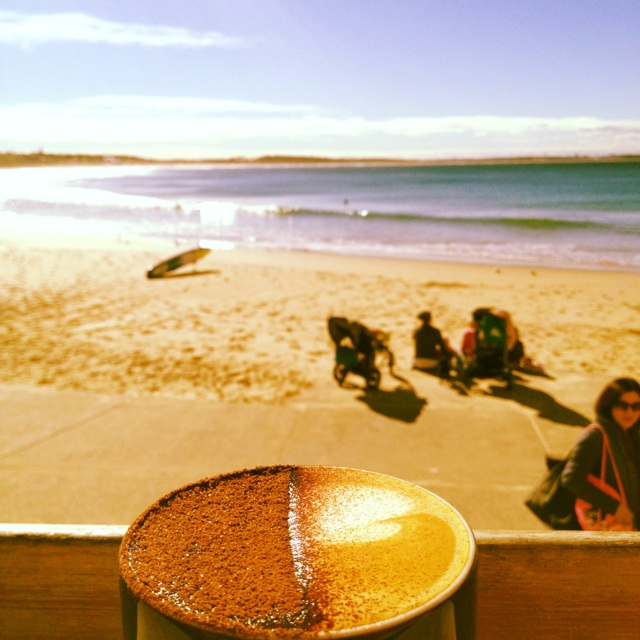 Coffee, South Cronulla Beach.