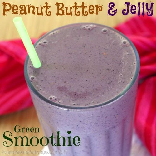 Jelly Green Smoothie - Cupcakes & Kale Chips: Banana, Peanuts, Cupcake ...