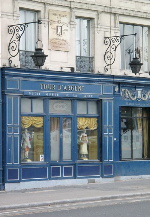 One of Paris' oldest and most famous restaurants, La Tour d'Argent, overlooks the Seine River. Pressed duck is the specialty of this Michelin starred restaurant.