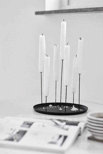 Vosgesparis: Black + Iron | Iron cast candleholders