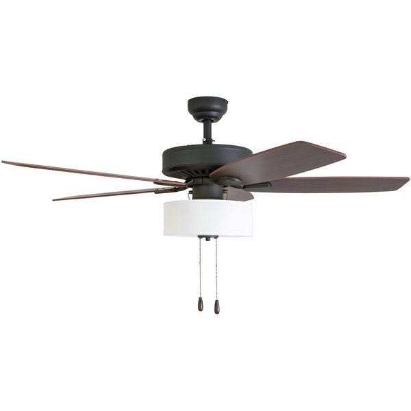 You Ll Love The 52 Harkers 5 Blade Led Ceiling Fan At Wayfair Great Deals On All Lighting Products Wi Fan Light Ceiling Fan Light Kit Ceiling Fan With Light