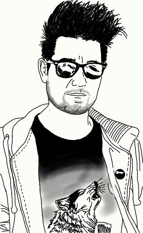 More Dan Smith digital sketch!