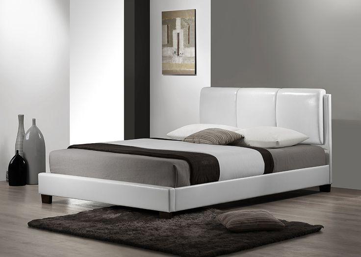 Furnish.com.au - Erica White Leatherette Bed Online   Bedroom Furniture (http://www.furnish.com.au/bedroom/beds-bed-frames/double-bed-frames/erica-white-leatherette-bed/)