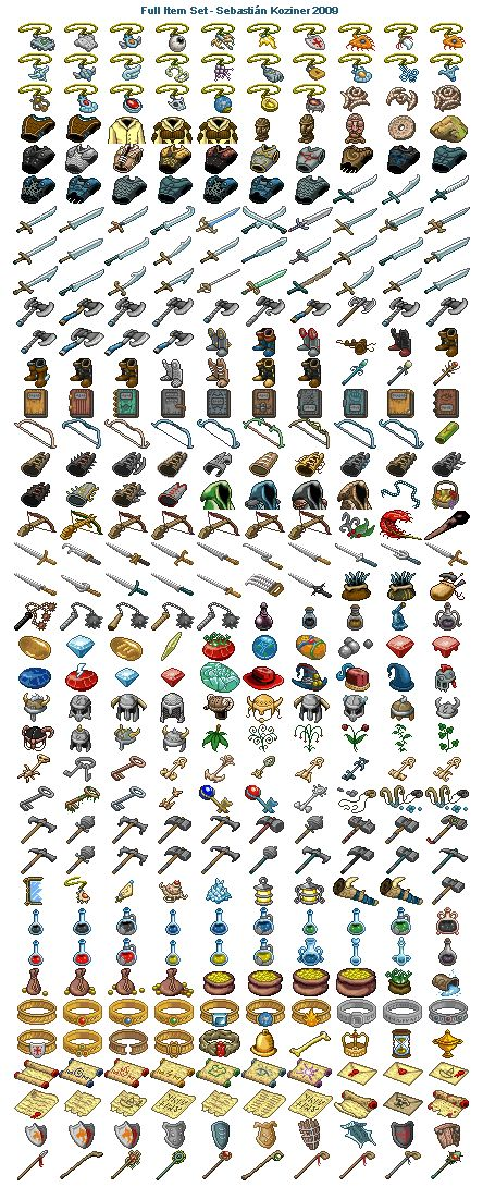 Mazes of Fate - Full Item Set Icon, Pixel Art, Buddy Icons, Forum Avatars